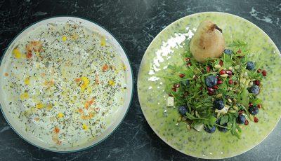 Două salate delicioase de la Marina Borta