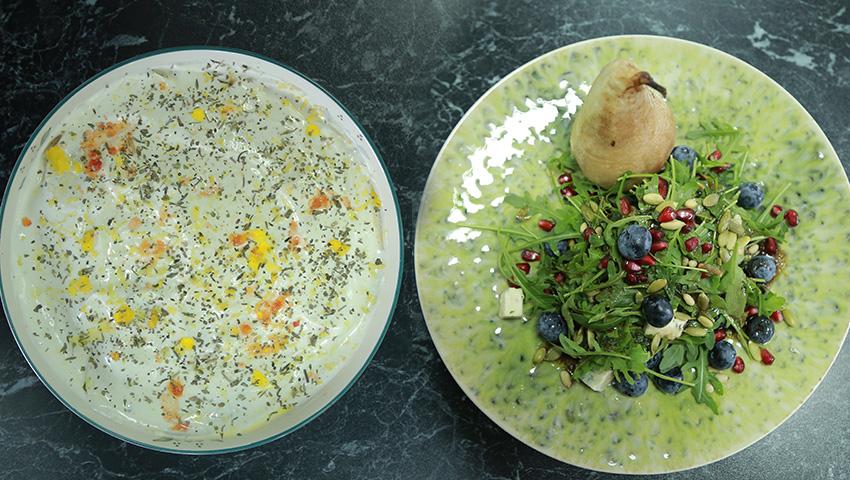 Foto: Două salate delicioase de la Marina Borta