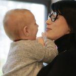 Foto: Diana Ballerini despre maternitate și fericirea din viața ei care poartă numele Iris
