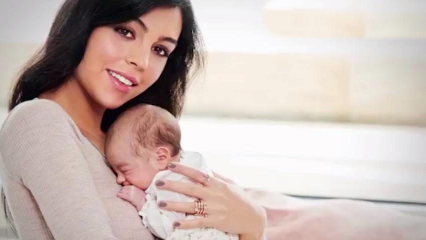 Poze inedite cu fiica lui Cristiano Ronaldo și a Georginei Rodriguez!