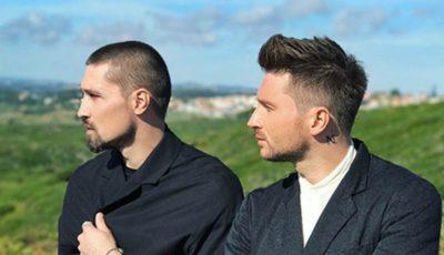 Dima Bilan și Sergey Lazarev într-un videoclip de excepție