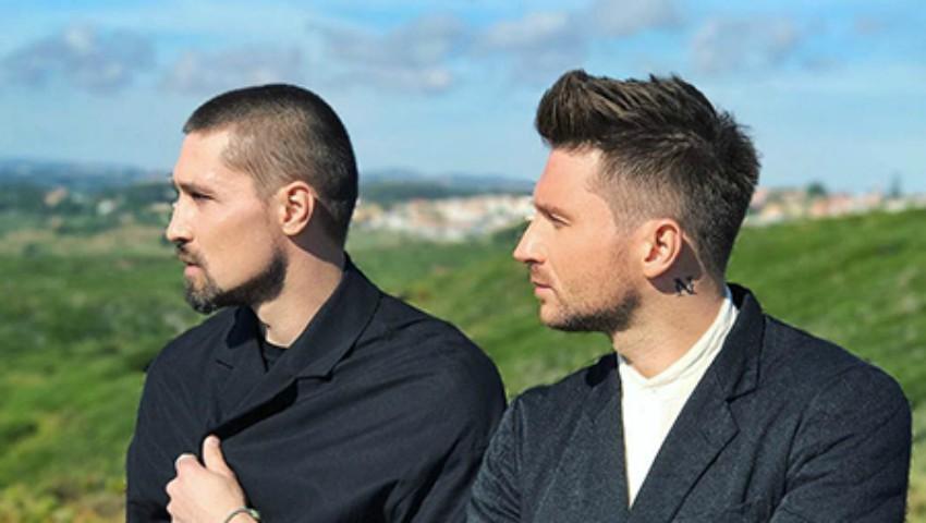 Foto: Dima Bilan și Sergey Lazarev într-un videoclip de excepție