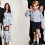 Foto: Palatul Kensington a postat felicitarea de Crăciun a Ducilor de Cambridge