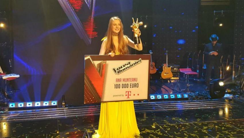 Foto: Ana Munteanu a dezvăluit ce va face cu marele premiu în valoare de 100.000 de euro