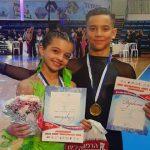 """Foto: Moldova a obținut medalia de aur la concursul de dans din Israel, categoria """"Junior 1"""", secțiunea latino!"""