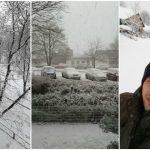 Foto: Moldovenii s-au bucurat de prima zăpadă din această iarnă! Poze