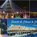 Foto: Târg de Crăciun și atmosferă de basm! Până pe 8 ianuarie, trăiește magia Sărbătorilor alături de cei dragi la Castel Mimi!