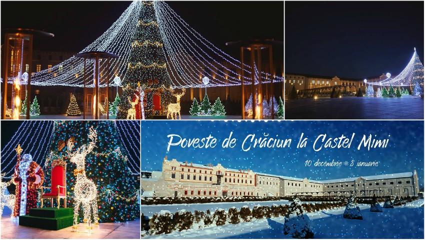 Târg de Crăciun și atmosferă de basm! Până pe 8 ianuarie, trăiește magia Sărbătorilor alături de cei dragi la Castel Mimi!