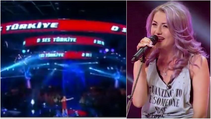 """Foto: Video! Moldoveanca Vera Țurcanu a făcut senzație la ,,Vocea Turciei"""""""