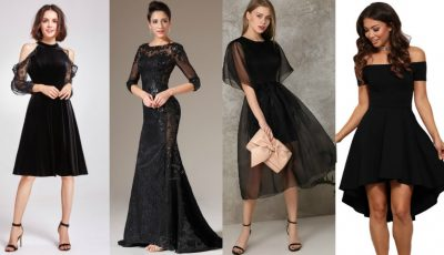 """,,Magia neagră""""! 24 de modele de rochii elegante pentru orice ocazie"""
