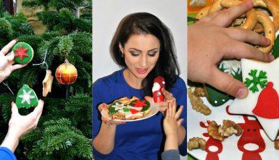 Stela Popa și-a împodobit bradul cu biscuiți de Crăciun, proaspăt preparați! Iată rețeta