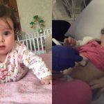 Foto: O fetiță de 7 luni a fost diagnosticată cu o formă rară de cancer. Să o ajutăm împreună!