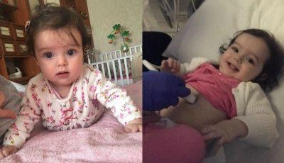 O fetiță de 7 luni a fost diagnosticată cu o formă rară de cancer. Să o ajutăm împreună!