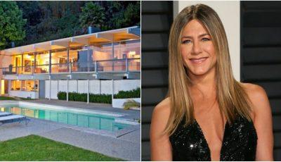 Jennifer Aniston și-a arătat casa!