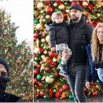 Foto: Shakira și Pique au petrecut Crăciunul împreună, alături de copii!