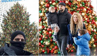 Shakira și Pique au petrecut Crăciunul împreună, alături de copii!