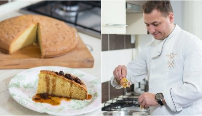 Cel mai simplu și delicios desert de Anul Nou de la bucătarul Petru Chicu
