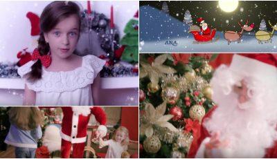 Radu Sîrbu și-a lansat fiica în muzică. Iată ce videoclip de Crăciun au filmat cei doi!