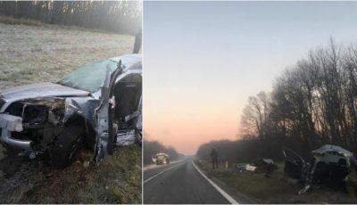 Accidentul groaznic de pe traseul Chișinău-Leușeni: cei doi pasageri erau soț și soție și se pregăteau de nuntă