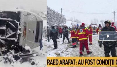 Accidentul grav din Harghita cu implicarea unui microbuz de pe ruta Praga-Orhei. Doi moldoveni au murit