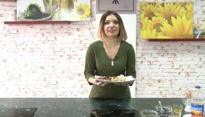 Paste în sos alb cu spanac și creveți. O rețetă perfectă pentru masa de sărbătoare de la Liudmila Belostecinic