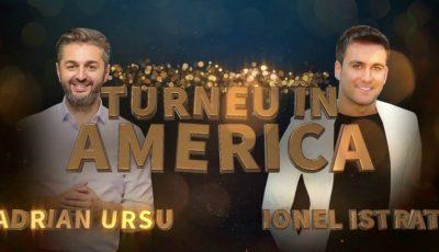 De Revelion, Ionel Istrati și Adrian Ursu vor susţine un concert de zile mari la Chicago, în cadrul unui turneu în SUA!!!