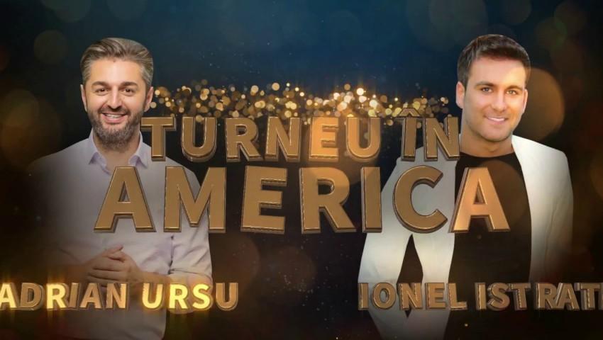 Foto: De Revelion, Ionel Istrati și Adrian Ursu vor susţine un concert de zile mari la Chicago, în cadrul unui turneu în SUA!!!