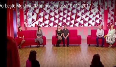 """Două participante Miss UNICA Sport 2017, în platoul talk-show-ului """"Vorbește Moldova""""! Vezi cu ce s-au lăudat"""