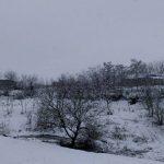 Foto: Ninge frumos în nordul țării. Imagini de poveste!