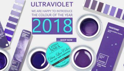 Ultra violet – culoarea anului 2018!
