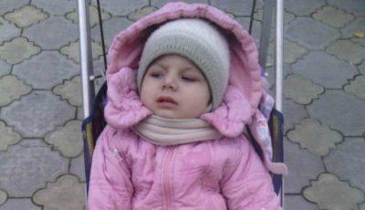 Otilia Pânzaru are nevoie de ajutorul nostru!!! Fetiţa a rămas paralizată în urma administrării unui vaccin