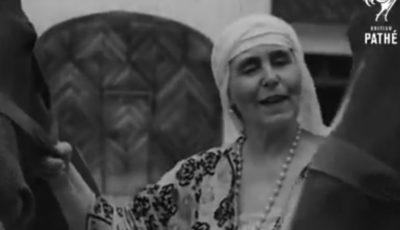 Video! Imagini rare de colecție cu Regina Maria, bunica Regelui Mihai al României