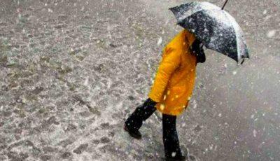 Avertizare meteo! Cod galben de ploi puternice în Moldova
