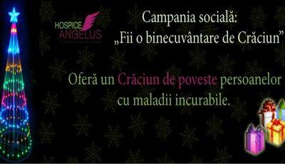 """""""Fii o binecuvântare de Crăciun"""", donează pentru persoanele care suferă de boli incurabile!"""
