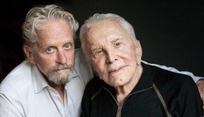Mesajul actorului Michael Douglas pentru tatăl său care a împlinit 101 ani