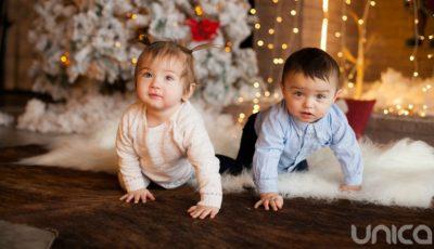 Camelia și Damian Munteanu sunt câştigătorii concursului Baby Star!