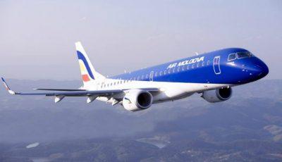 Un avion de pe cursa Chişinău-Verona a fost întors din zbor din cauza unei fisuri în parbriz