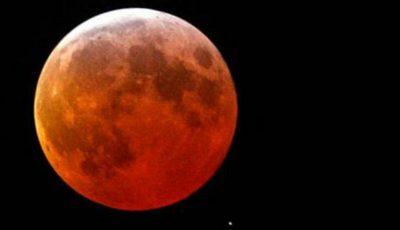 Eclipsa totală de Lună din 31 ianuarie – fenomenul care nu s-a mai petrecut de 150 de ani!