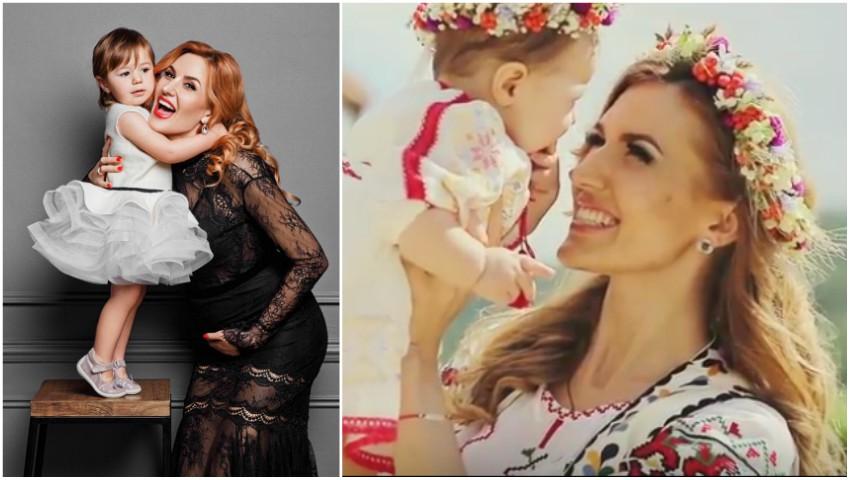 Foto: Tatiana Heghea a publicat imagini video de la botezul și cumetria fetiței sale, care astăzi împlinește 2 anișori!
