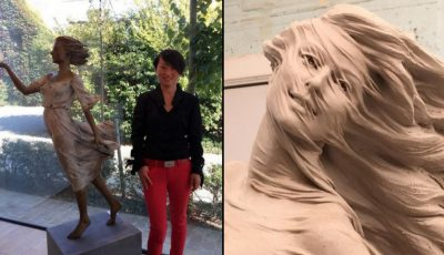 Impresionant! O artistă din China realizează orice sculptură pentru femei în mărime naturală