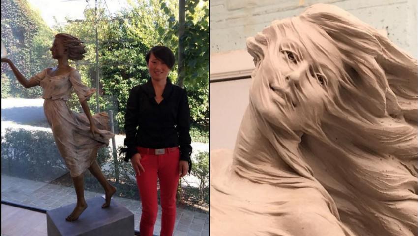 Foto: Impresionant! O artistă din China realizează orice sculptură pentru femei în mărime naturală