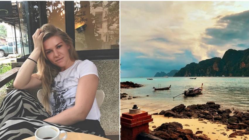 Karizma își incită fanii cu poze din vacanța în Thailanda