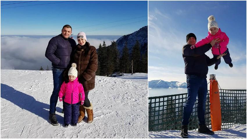Foto: Mariana Șura, în vacanță cu familia la munte. Vezi cum se distrează pe pârtie!
