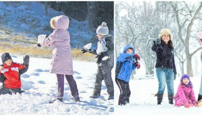 Cele mai distractive activități pentru copii și părinți iarna