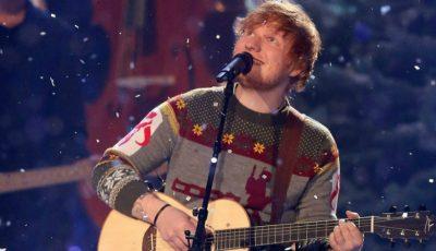 """Hitul """"Perfect"""" al lui Ed Sheeran este pe primul loc în topul britanic al pieselor de Crăciun"""