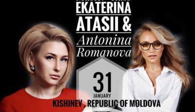 "Ekaterina Atasii & Antonina Romanova te invită la master class-ul ""Her Majesty – secrete și coafuri""!"