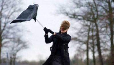 Atenție! Cod galben de vânt puternic în toată țara