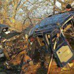 Foto: Accident soldat cu cinci morți în raionul Anenii Noi