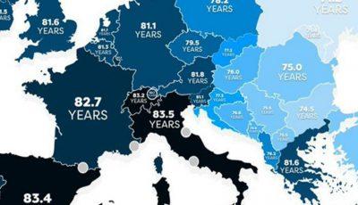 Moldova are cea mai mică speranță de viață din Europa