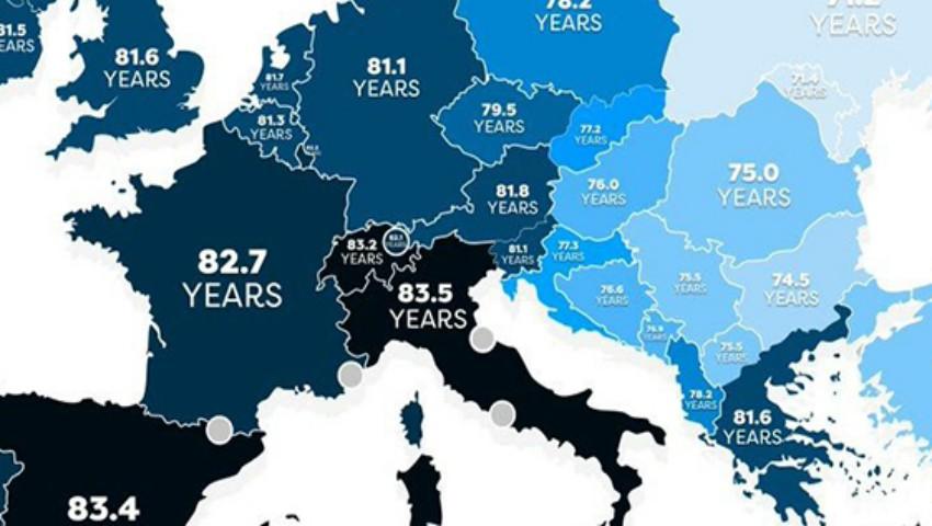 Foto: Moldova are cea mai mică speranță de viață din Europa